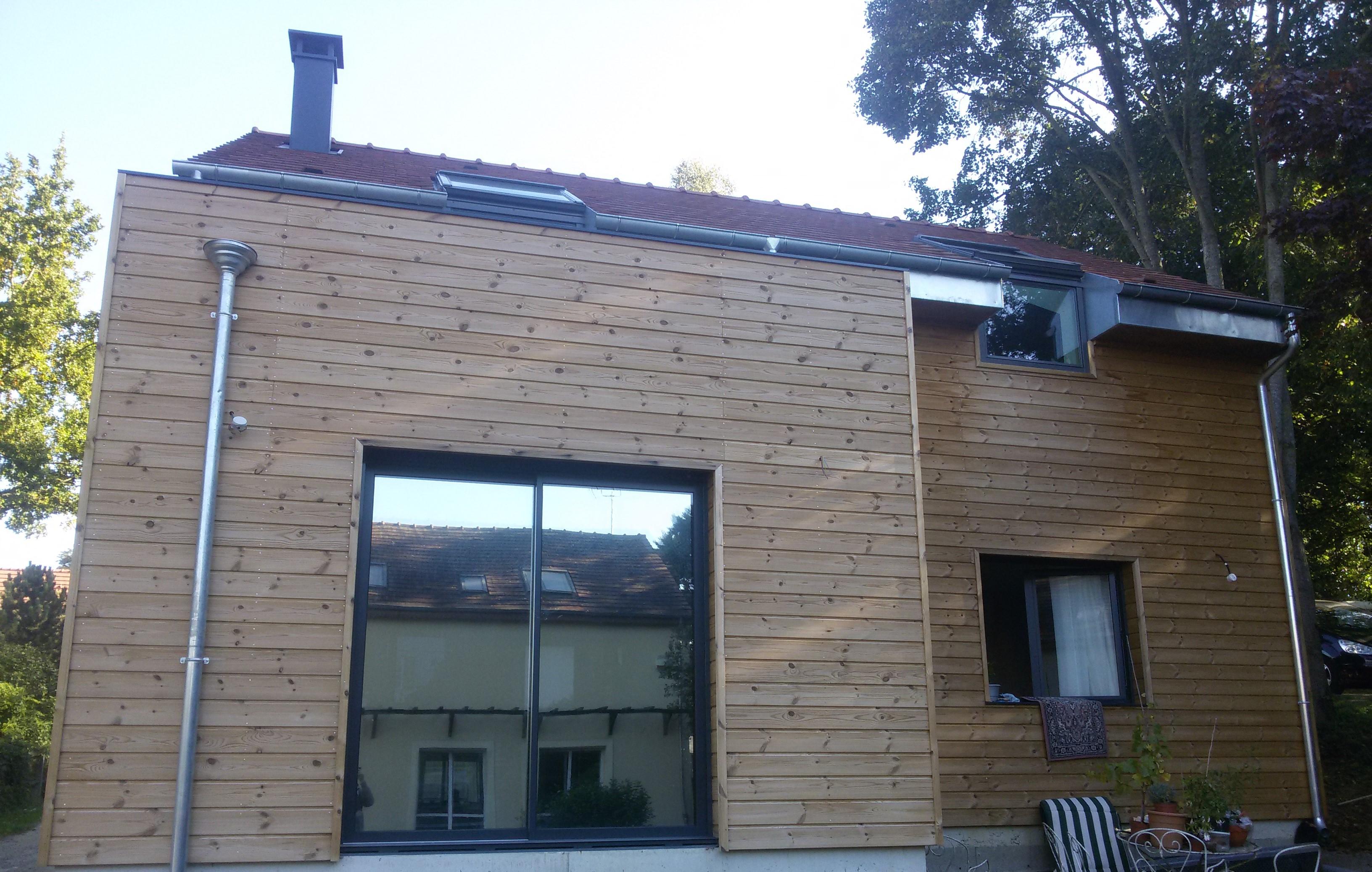 Maison en ossature bois à Osny en Ile de France