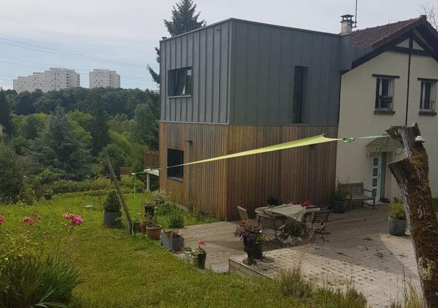 Agrandissement à Osny en Ile De France